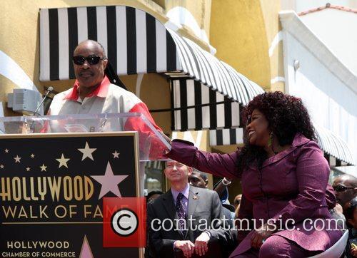 Stevie Wonder and Chaka Khan 5