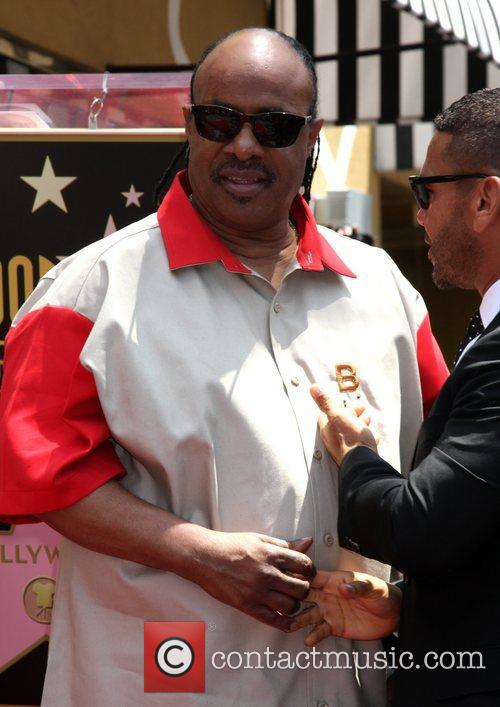 Stevie Wonder, Star On The Hollywood Walk Of Fame