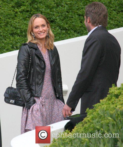 Amber Valletta,  arrives at Chanel Hosts Benefit...