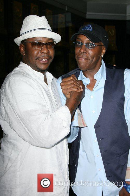 Bobby Brown and Arsenio Hall 3