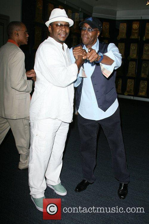 Bobby Brown and Arsenio Hall 1