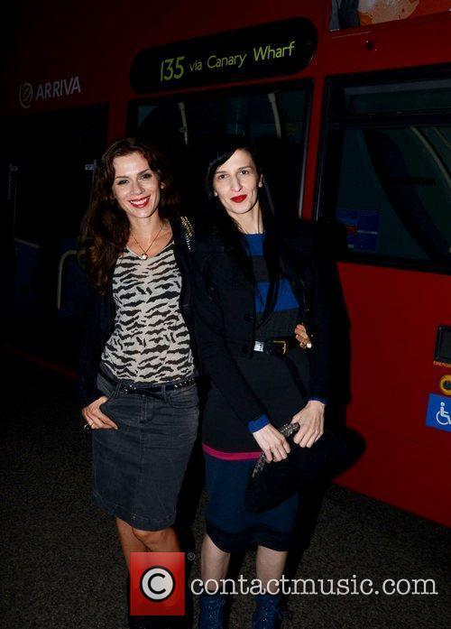 Lara Bohinc  Channel 4 Autumn Season party...