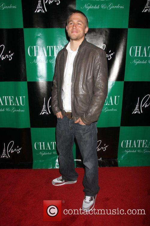 Charlie Hunnam hosts at Chateau Nightclub and Gardens...