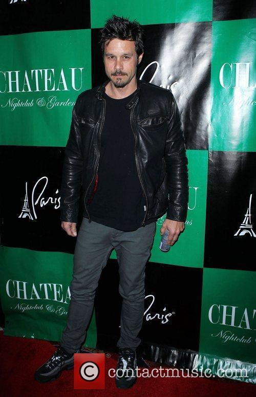 Charlie Sheen hosts an evening at Chateau Club...