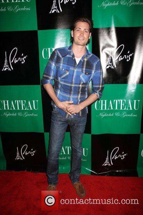Zach Conroy Charlie Sheen hosts an evening at...