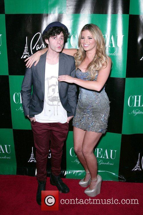 Paul Iocono, Amber Lancaster Charlie Sheen hosts at...
