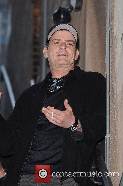 Charlie Sheen on tour in Toronto with...