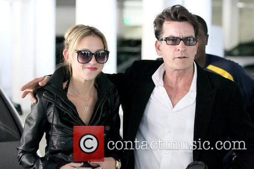 Natty and Charlie Sheen 3