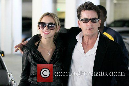 Natty and Charlie Sheen 2