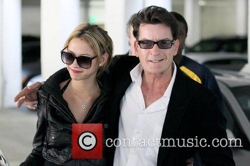 Natty and Charlie Sheen 6