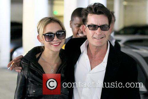 Natty and Charlie Sheen 7