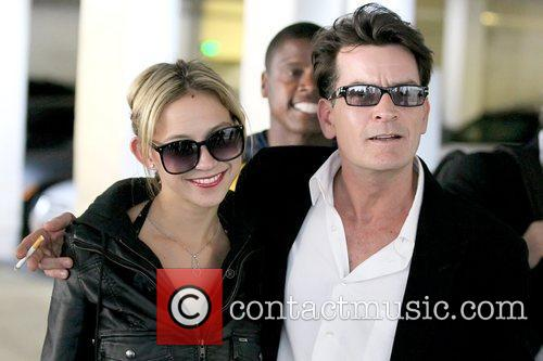 Natty and Charlie Sheen 9