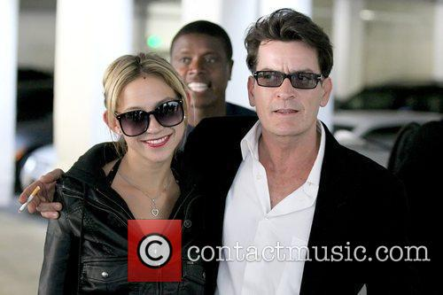 Natty and Charlie Sheen 1