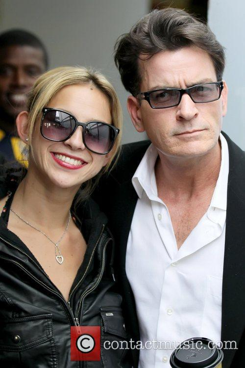 Natty and Charlie Sheen 5