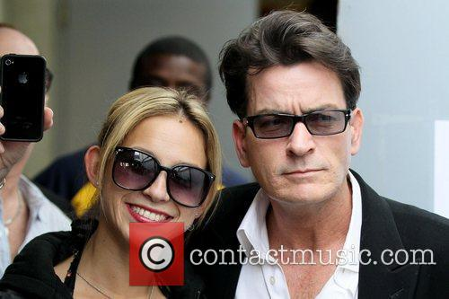 Natty and Charlie Sheen 8
