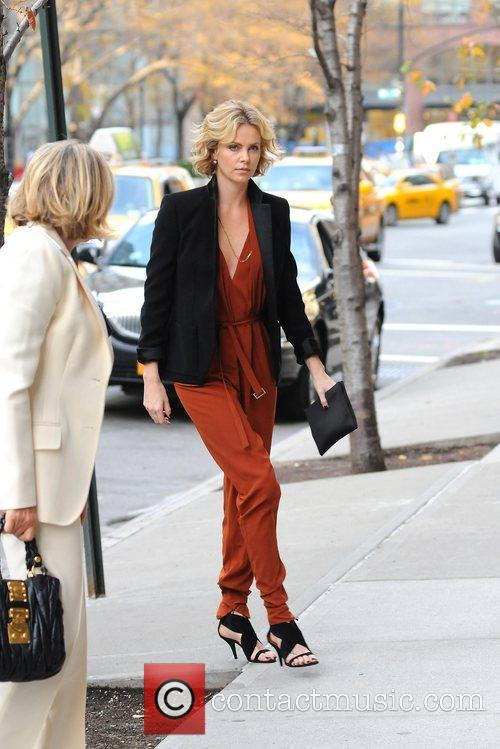 Charlize Theron and Manhattan Hotel 7