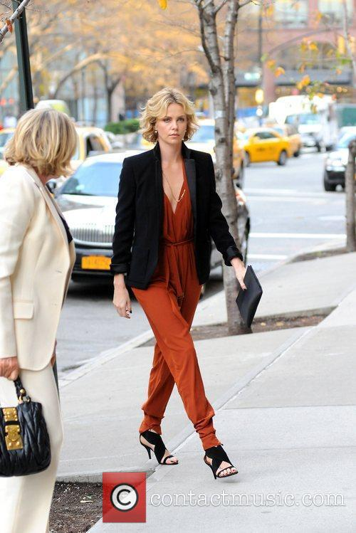 Charlize Theron and Manhattan Hotel 8