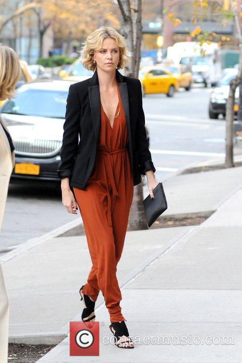 Charlize Theron and Manhattan Hotel 5