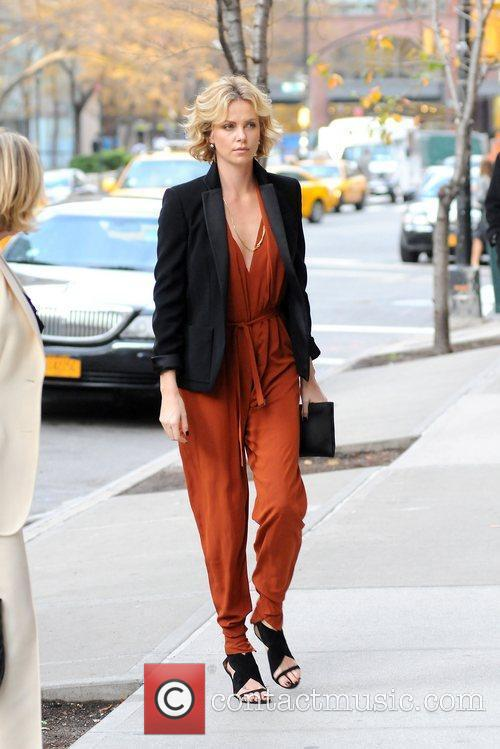 Charlize Theron and Manhattan Hotel 11