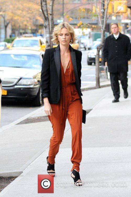 Charlize Theron and Manhattan Hotel 10