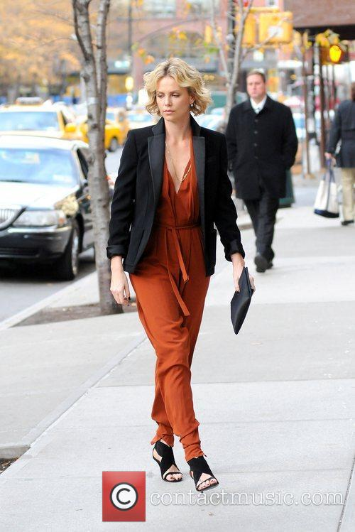 Charlize Theron and Manhattan Hotel 9