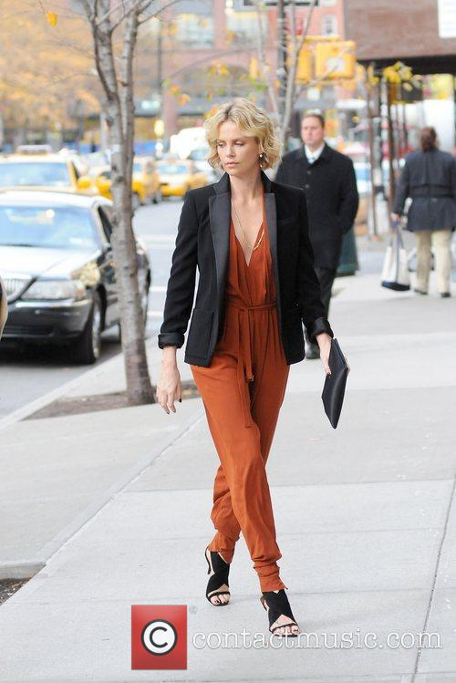 Charlize Theron and Manhattan Hotel 2