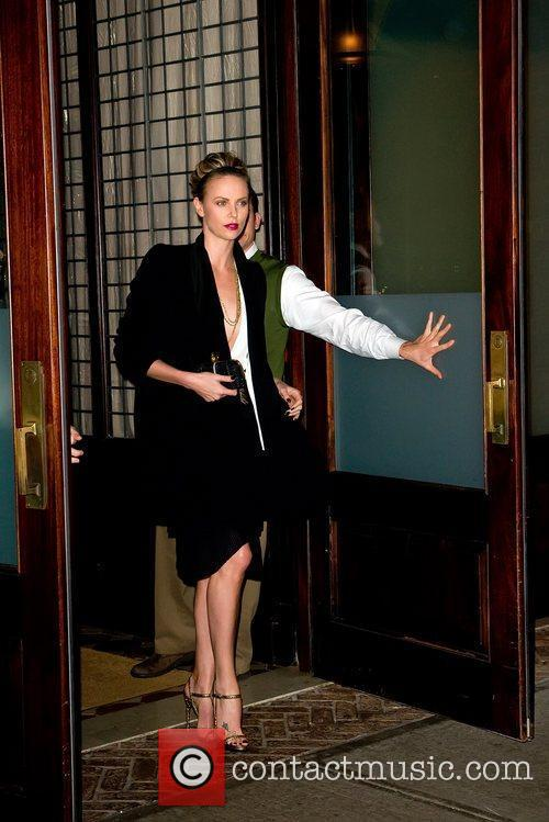 Charlize Theron and Manhattan Hotel 6