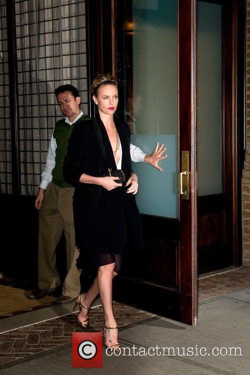 Charlize Theron and Manhattan Hotel 4