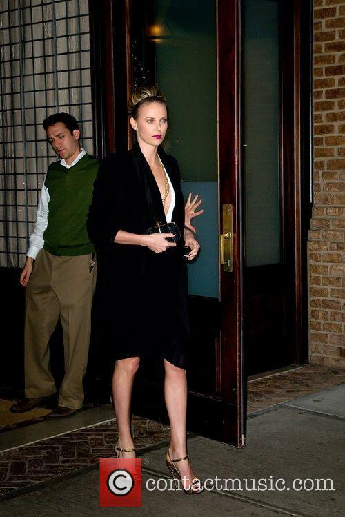 Charlize Theron and Manhattan Hotel 1