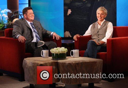 Chaz Bono makes an appearance on The Ellen...