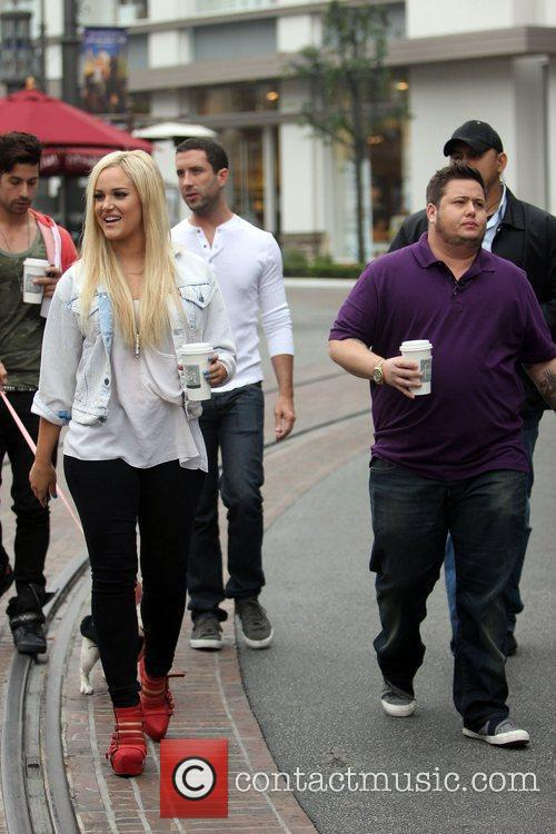 lacey schwimmer and chaz bono at the 5742427