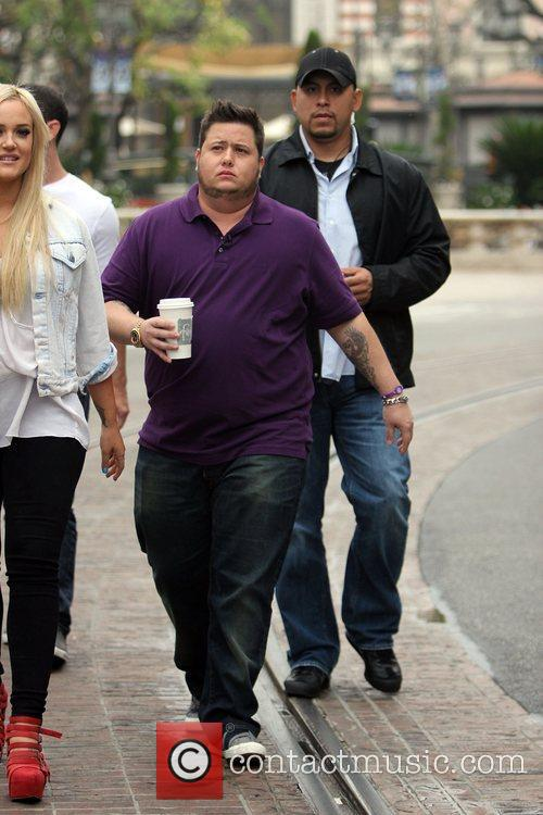 lacey schwimmer and chaz bono at the 5742432