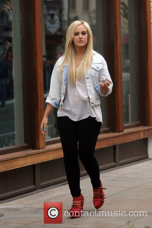 lacey schwimmer at the grove to film 5742435