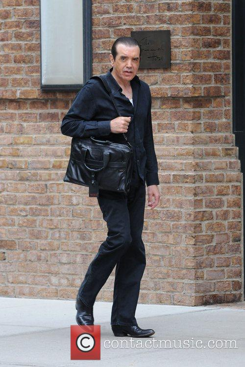 Chazz Palminteri out and about in Manhattan