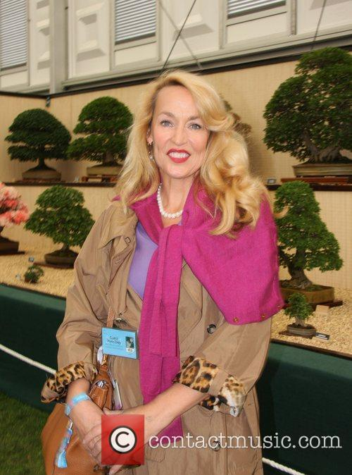 Jerry Hall Chelsea Flower Show Press and VIP...