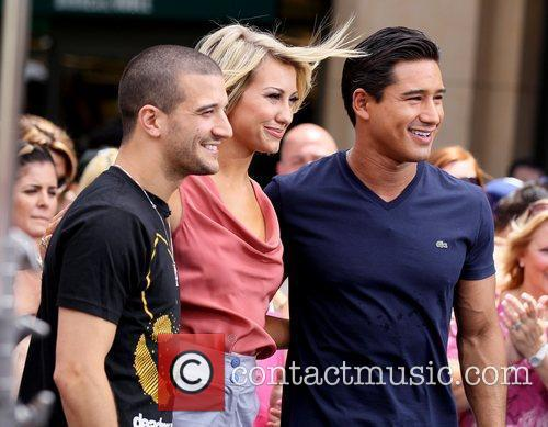 'Dancing with the Stars' dancers arrive at The...