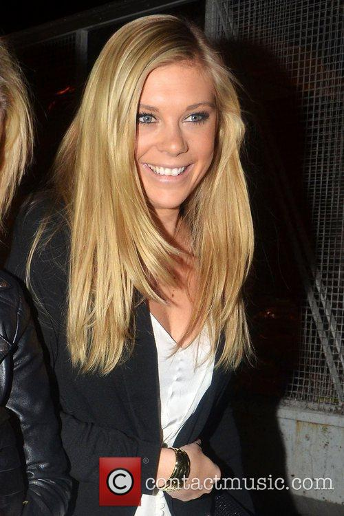 Chelsy Davy,  at the launch reception for...