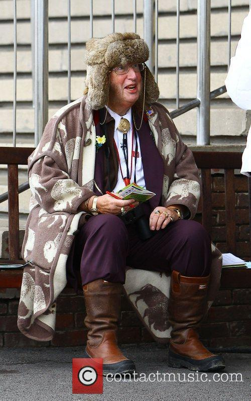 John McCririck at the Cheltenham Festival  Cheltenham,...