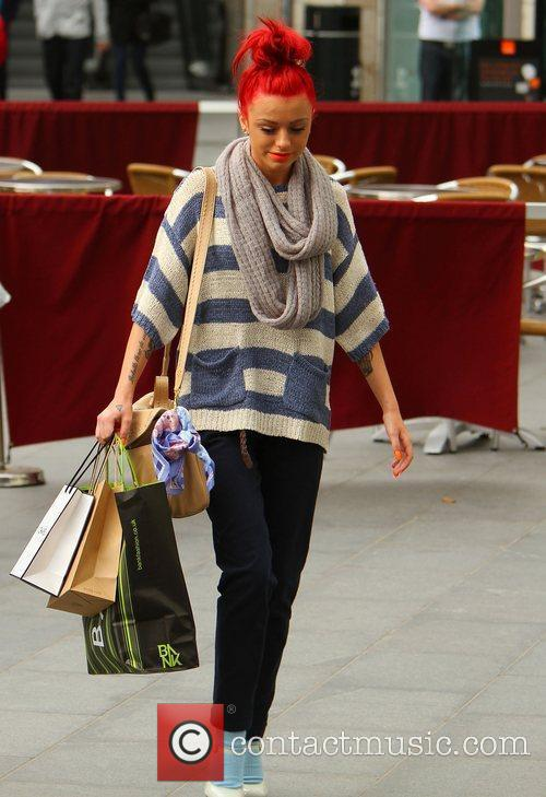 Cher Lloyd shopping in Liverpool Liverpool, England