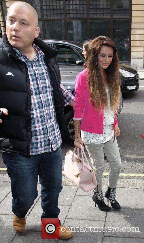 Cher Lloyd  arrives at the BBC Radio...