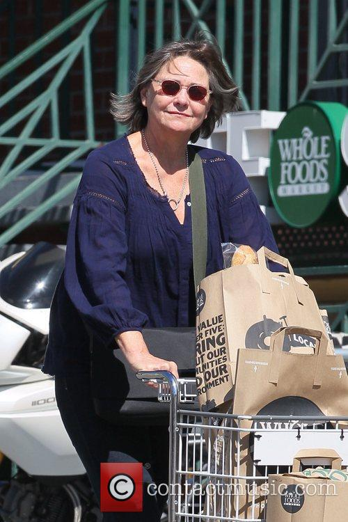 Out shopping at Whole Foods supermarket in Hollywood