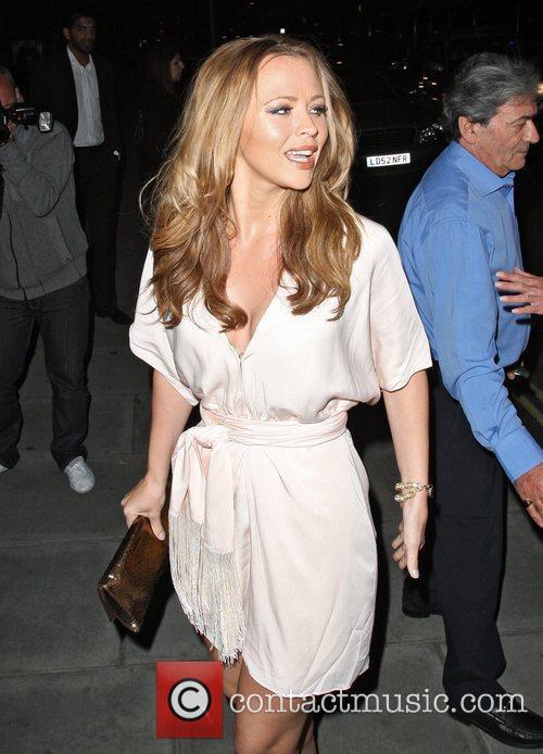 Cheryl Cole's 28th birthday celebration at the Sanderson...