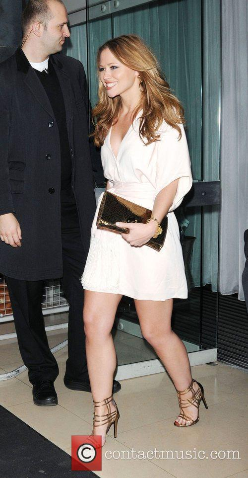 Attends Cheryl Cole's birthday celebrations at the Sanderson...