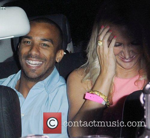 Matthew Cole attends Cheryl Cole's birthday celebrations at...
