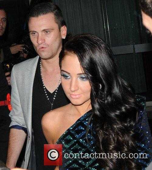Tulisa attends Cheryl Cole's birthday celebrations at the...