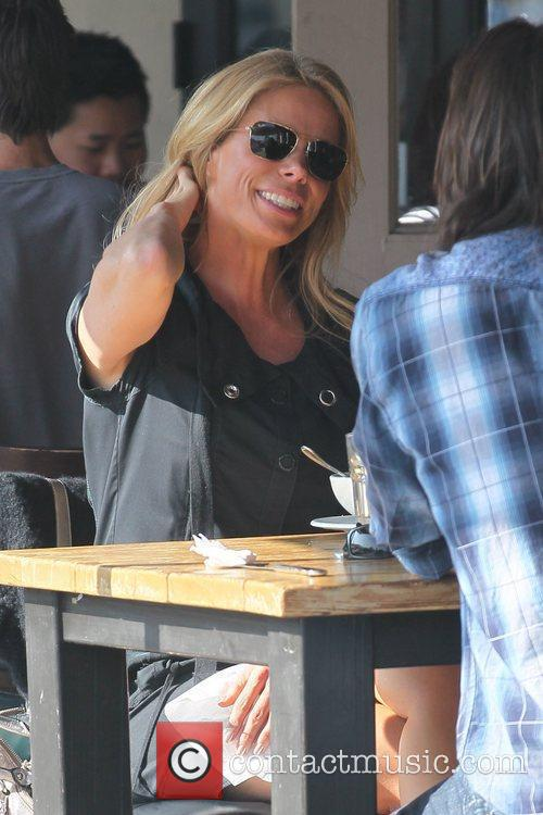 Cheryl Hines at Toast restaurant for lunch Los...