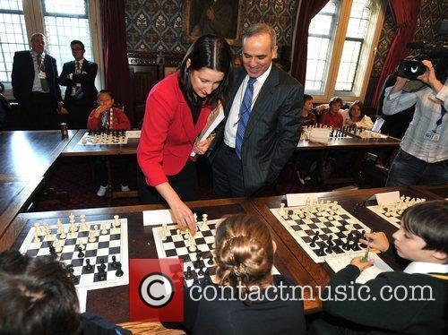 Garry Kasparov, Former World Chess Champion and Rachel...