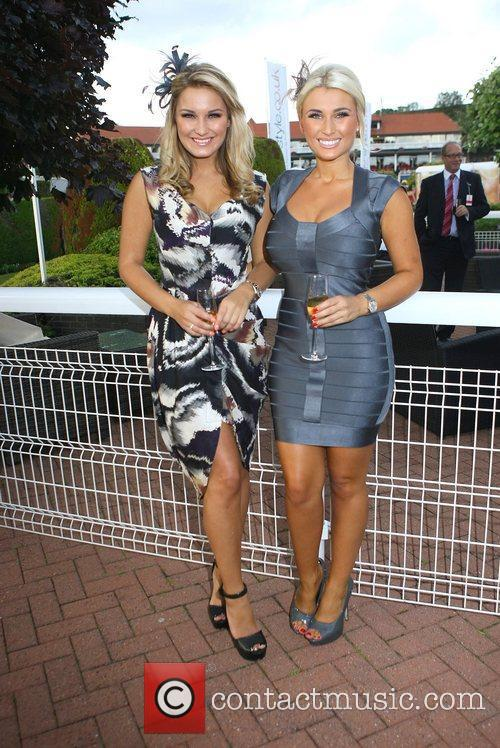 Sam and Billie Faiers Chester Races at Chester...