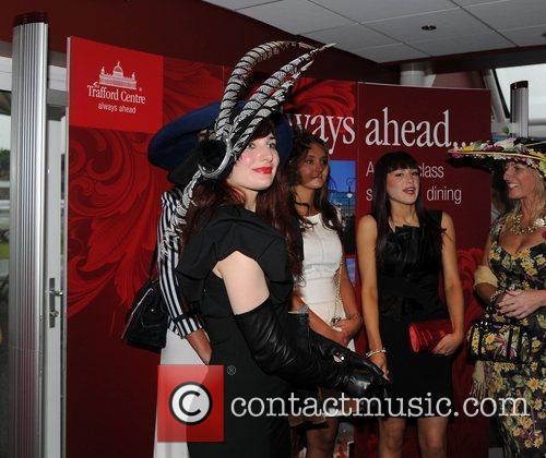 Atmosphere Jennifer Metcalfe and Claire Cooper judge the...