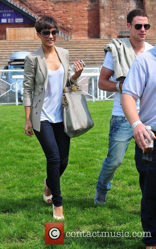 Frankie Sandford and Wayne Bridge 3